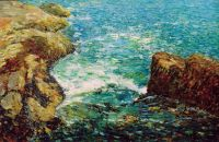Серф и скалы