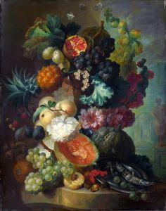 Хейсум Ян ван Фрукты, цветы и рыба