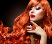 Рыжеволосая красота