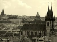 Вид на Прагу, Чехия
