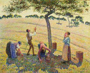 Піссарро Каміль Збирачі яблук