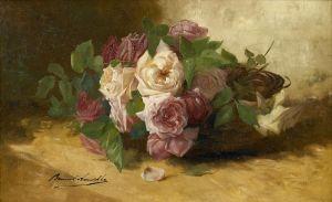 Брюнель де Нёвиль Альфред-Артур Tete de roses