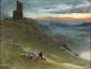 Гудвин Альберт Вид на Эдинбург с востока