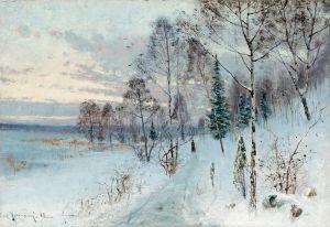 Йоханссон Карл Зимний пейзаж №2
