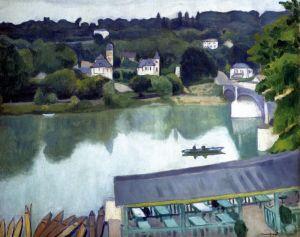 Постимпрессионизм Мост в Ла-Шанвьер