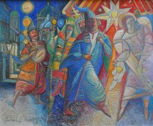 """Українське сучасне мистецтво Із серії """"Козак Мамай"""" - 101"""
