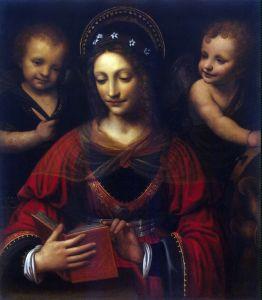 Луини Бернардино Святая Екатерина
