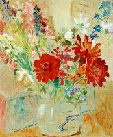 Натюрморт с летними цветами