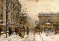 Париж, площадь Мадлен