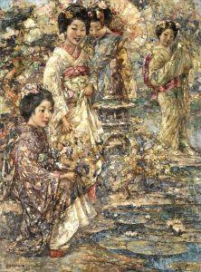 Хорнел Эдвард Аткинсон Японский сад