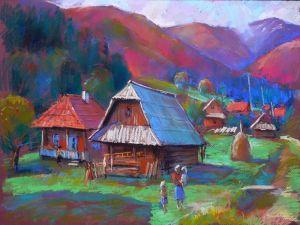 """Гунц Дмитрий Из серии """"Дорогой в горы"""" - 5"""