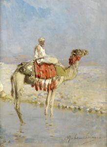 Санторо Рубенс Пересечение реки на верблюде