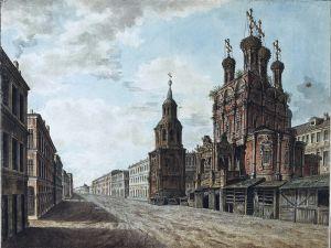 Алексеев Фёдор Большой Крест на Ильинке