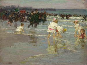 Потхаст Эдуард Генри Beach Scene