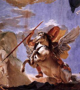 Рококо Сила красномовства, Беллерофонт і Пегас