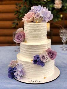 Вкусняшки ручной работы Торт свадебный 4
