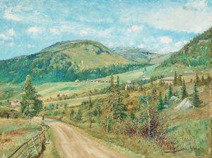 Йоханссон Карл Летний пейзаж из Оре
