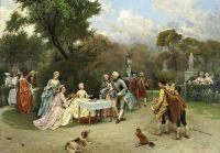 Маленькая принцесса в садах Версаля