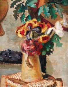 Экспрессионизм Цветочный натюрморт №5