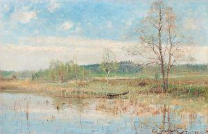 Йоханссон Карл Весенний пейзаж №2