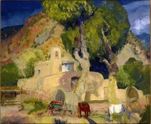 Беллоуз Джордж Уэсли Церковь в Чимайо