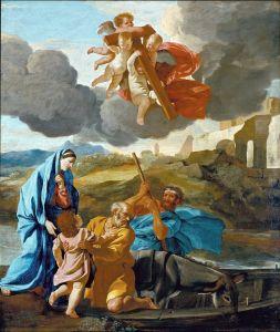 Возвращение святого семейства из Египта