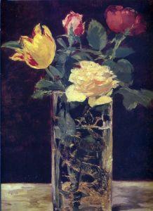 Мане Эдуард Роза и тюльпан