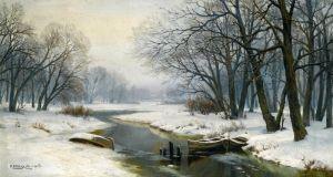 Вельц Иван Зимний пейзаж