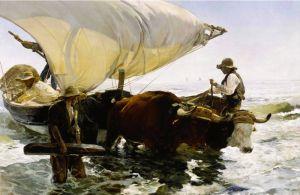 Соролья Хоакин Возвращение с рыбалки 2