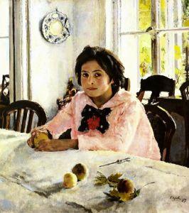 Серов Валентин Девочка с персиками