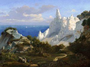 Гурлитт Луис Пейзаж со скалами