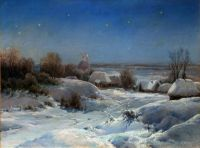 Украинская ночь. Зима