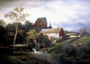 Ахенбах Андреас Ерфтмюле