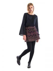Юбки с вышивкой Вышитая юбка GLOW2
