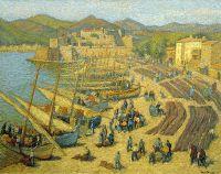 Рыбацкие лодки в Кольюр