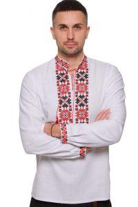 """Embroidered apparel - Men Вишиванка чоловіча """"Квіти зорі"""""""