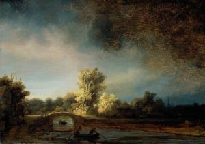 Рембрандт Харменс ван Рейн Каменный мост