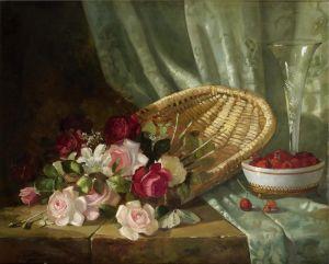 Грейвс Эббот Фуллер Натюрморт с розами и малиной