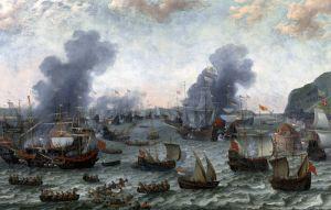 Барокко Победа голландцев над испанцами около Гибралтара 25 апреля 1607