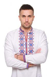 """Мужские вышиванки Вышиванка мужская """"Ромбы Косач"""""""