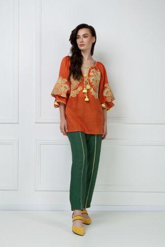 «Виктори» терракотовая блуза