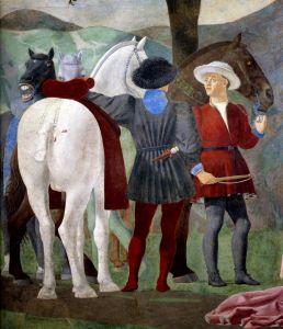 Франческа делла Пьеро Поклонение святому дереву