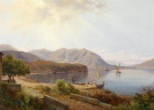 Гурлитт Луис Пейзаж на озере