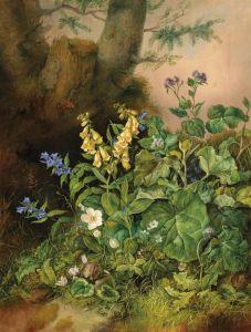 Барокко Лесные цветы