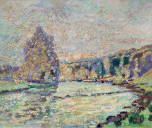 Гийомен Арман Река Крез в Женетен