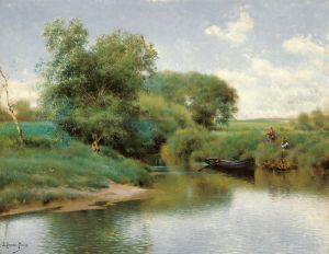 Санчес-Перье Эмилио Катание на реке