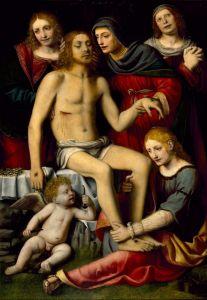 Луини Бернардино Оплакивание Христа
