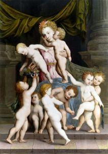 Печатные картины на холсте Аллегория милосердия 3