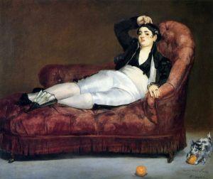Мане Эдуард Молодая женщина в испанском наряде