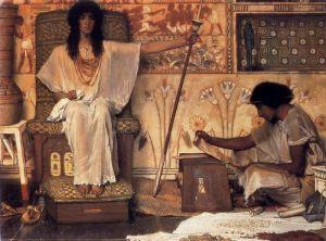 Альма-Тадема Лоуренс Иосиф - надзиратель зернохранилищ фараона